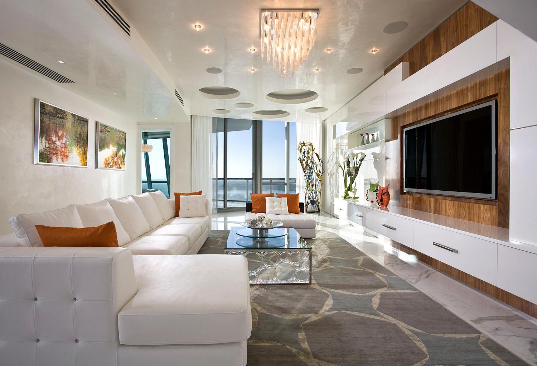 Modern Living Room Interior Design #pfunerdesign
