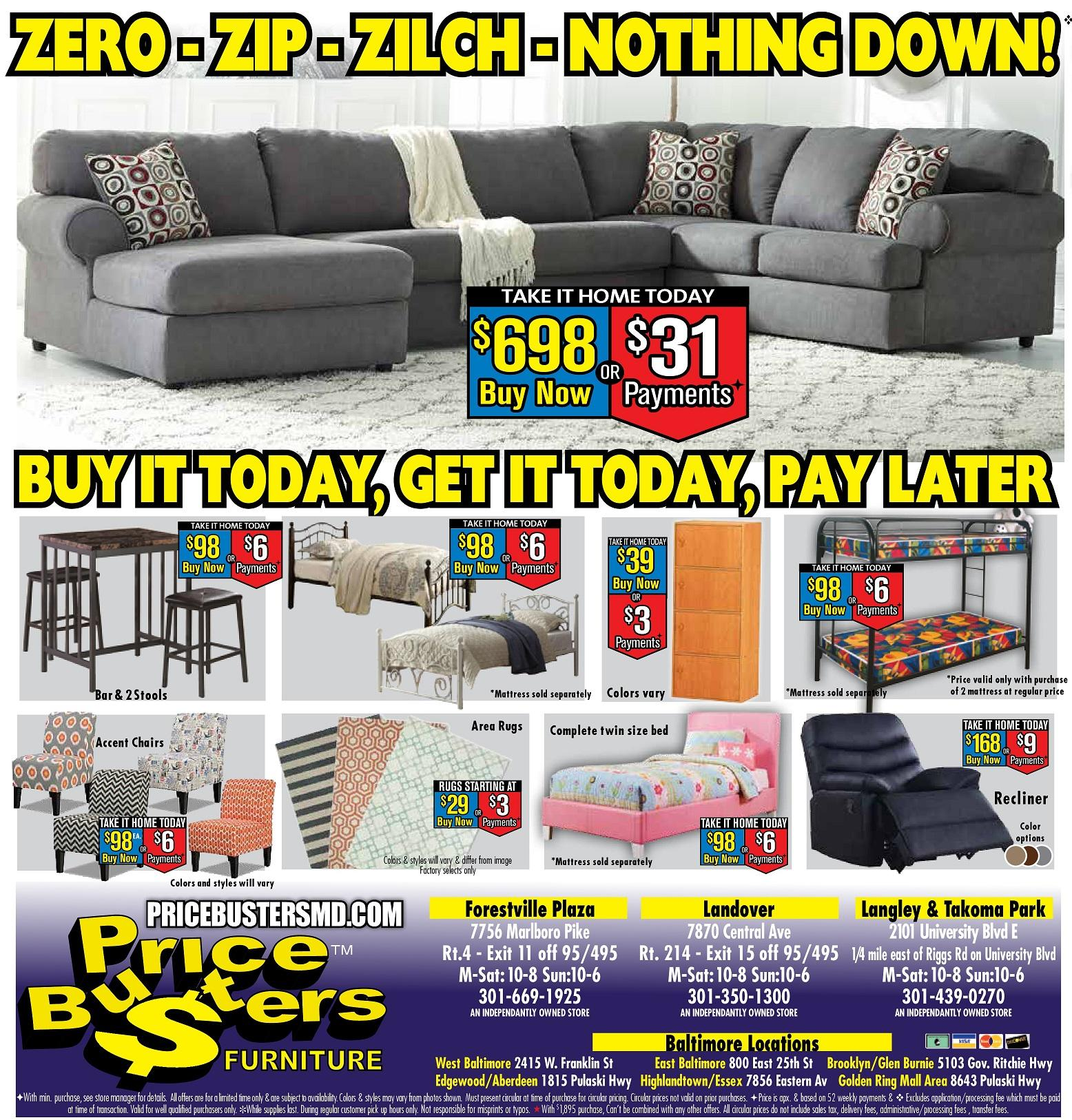 Price Busters Discount Furniture In Hyattsville Md 301 439 0