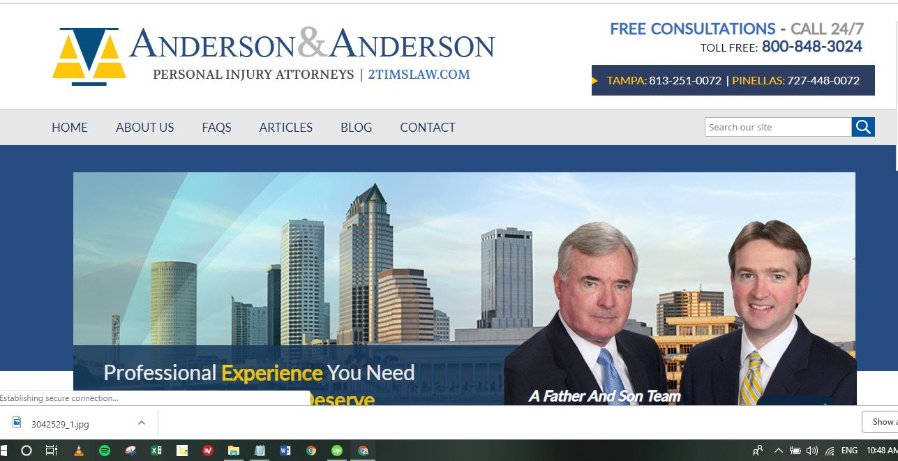 Anderson & Anderson, Personal Injury Attorneys