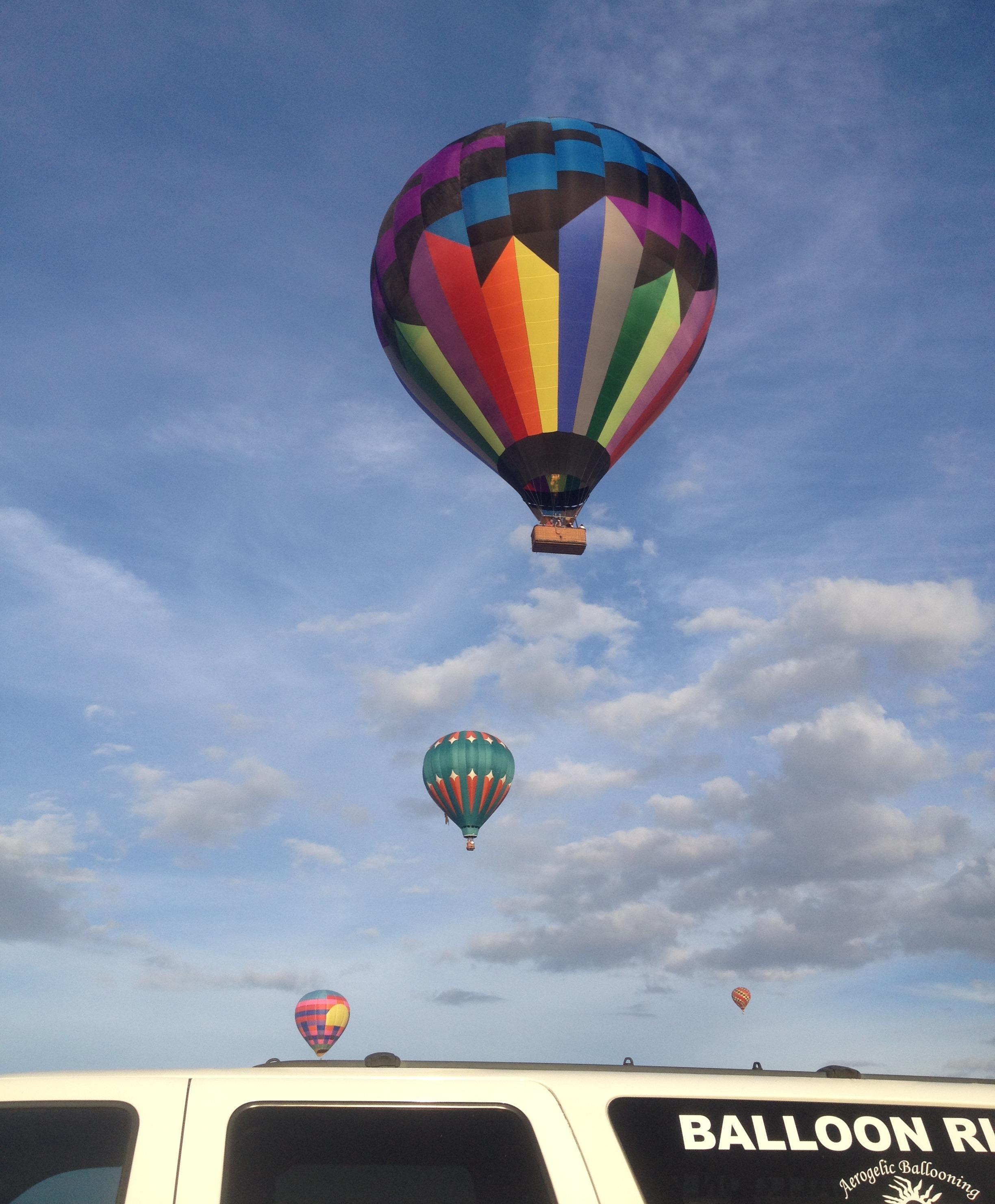 Albuquerque Hot Air Balloon Rides - Aerogelic Ballooning