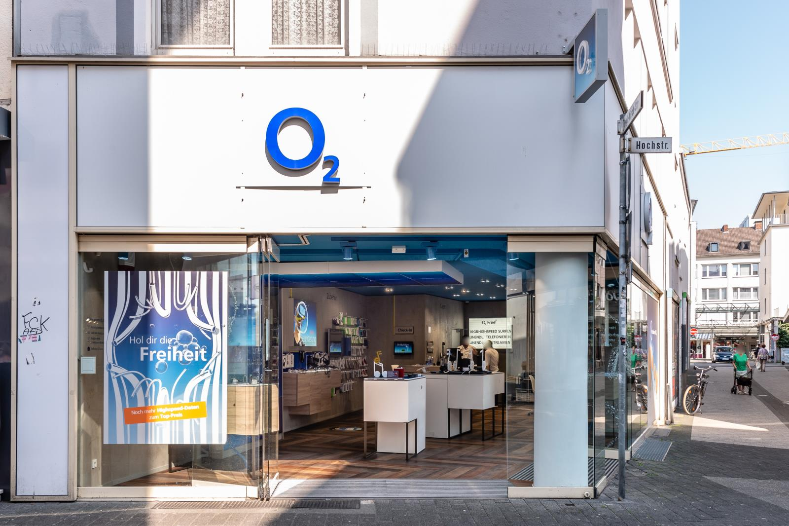 o2 Shop, Hochstraße 85 in Krefeld