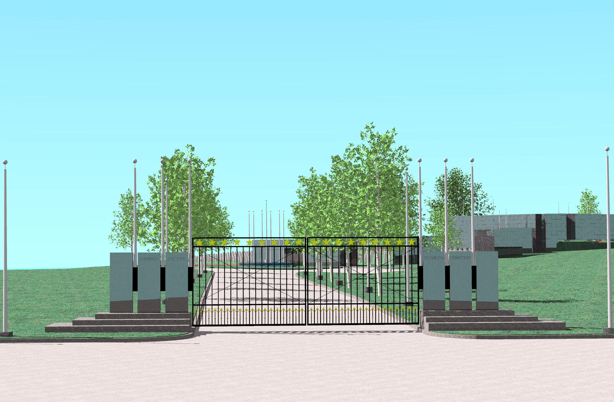 Camden County Veterans Cemetery image 1