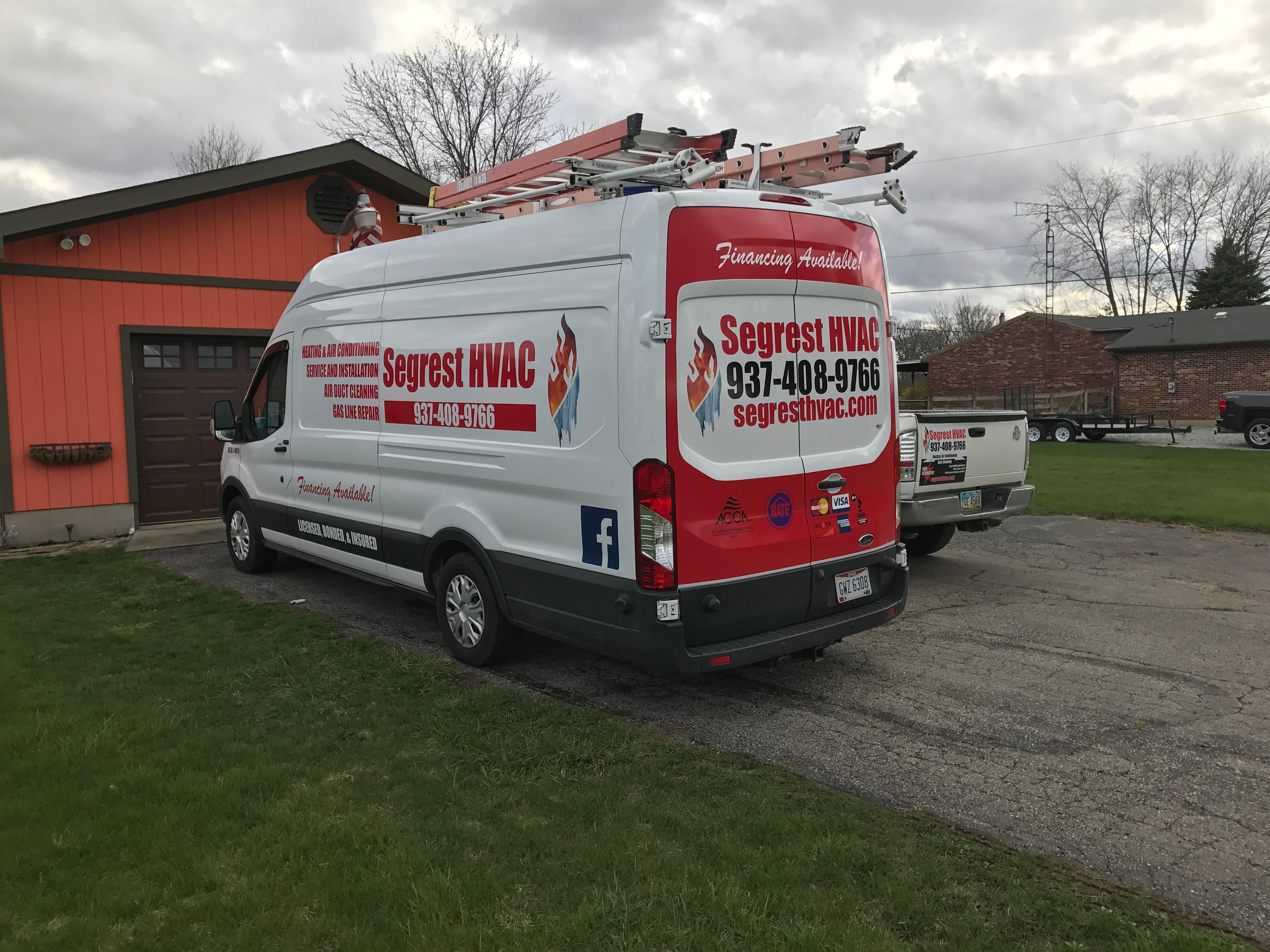Segrest Hvac Air Duct Cleaning Service Springfield Oh