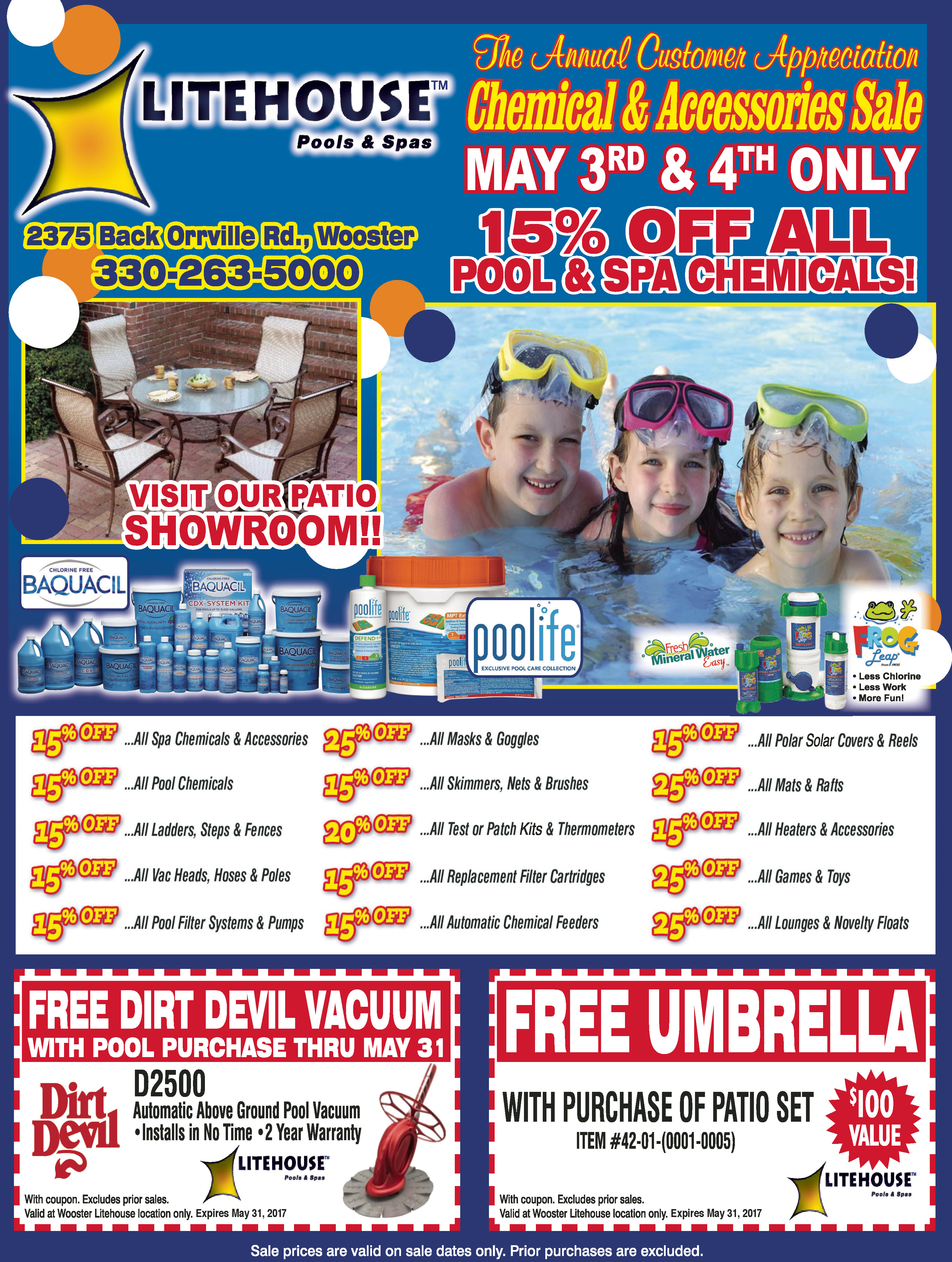 Litehouse pools coupons