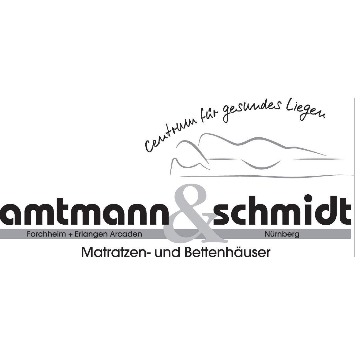 Logo von amtmann & schmidt, Matratzen- und Bettenhäuser, Centrum für gesundes Liegen