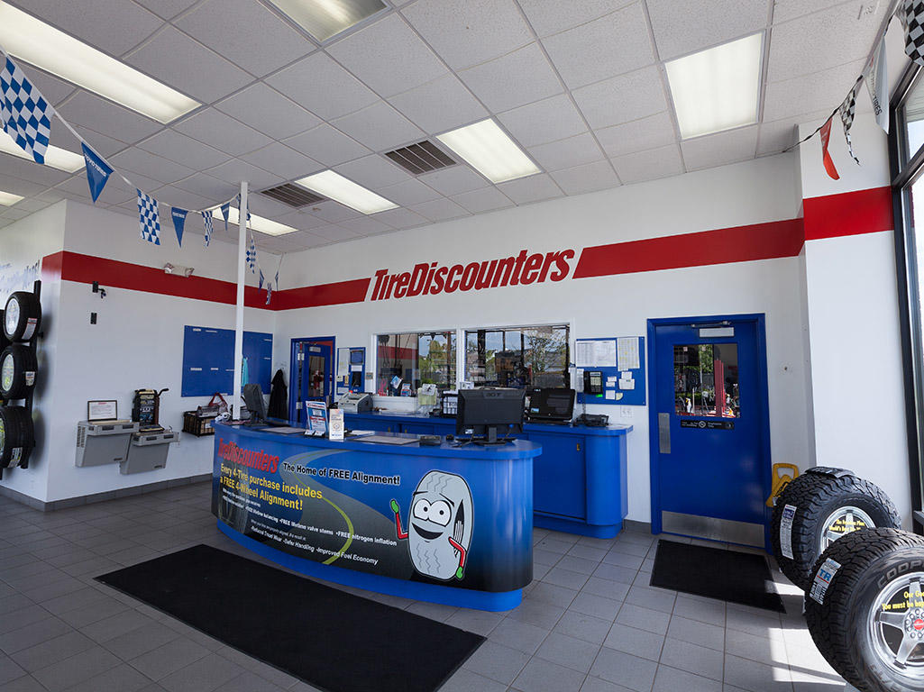 Coupons for tire discounters