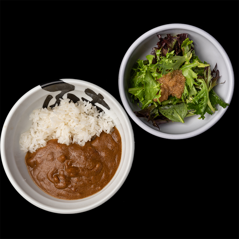 Click to expand image of Tokyo Curry Rice & Salad