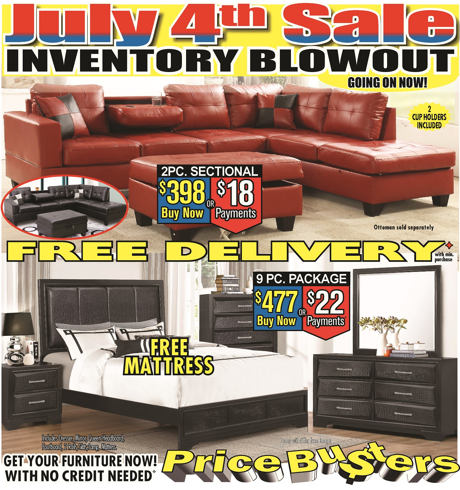 Price busters discount furniture in rosedale md 443 for Cheap local furniture