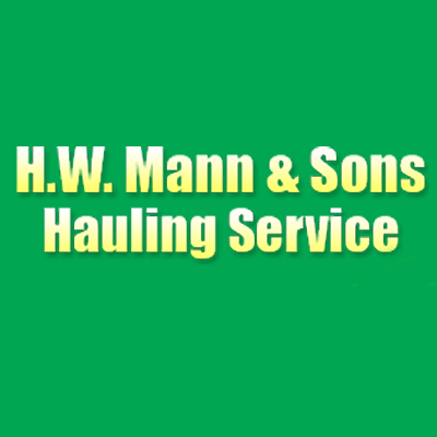 H W Mann & Sons Hauling Service - Springfield, OH - Debris & Waste Removal
