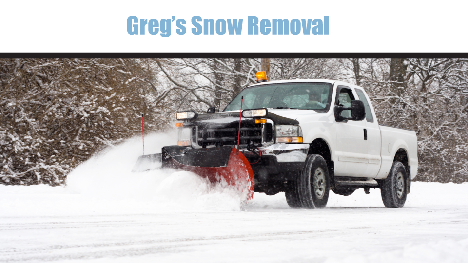 Greg's Snow Removal image 0