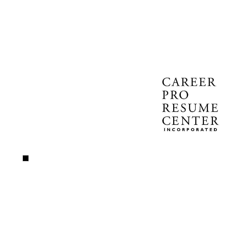 Career Pro Resume Center Inc. image 0
