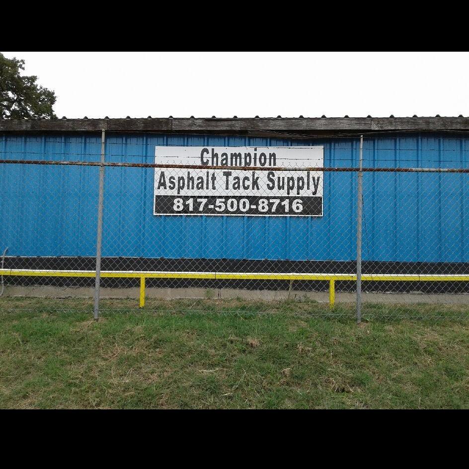 Champion Asphalt Tack Supply, LLC