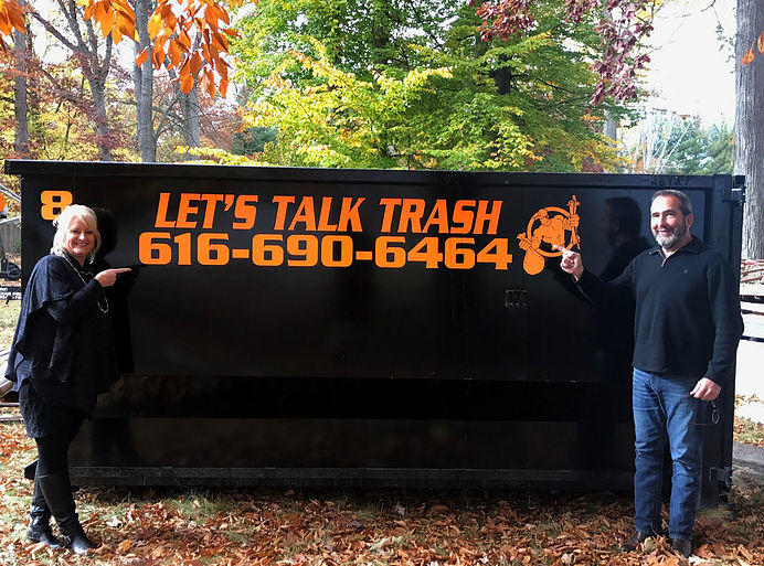 Let's Talk Trash Dumpster Rental image 1