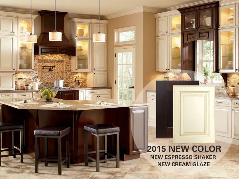 Mayland 2015 NEW COLOR New Espresso Shaker U0026 New Cream Glaze Landing 01/2015