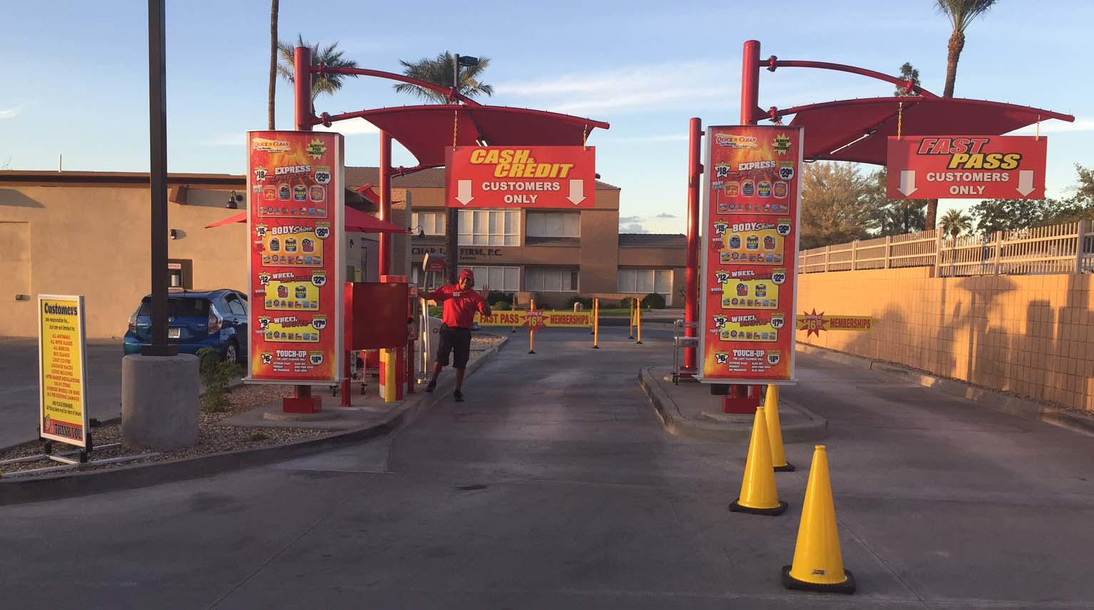 Quick N Clean Car Wash - CENTRAL PHOENIX - GRAND OPENING! image 0