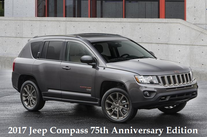 2017 Jeep Compass 75th Anniversary Edition For Sale in Appleton, WI