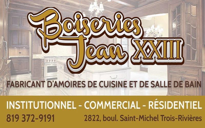 Boiseries Jean-XXIII à Trois-Rivieres