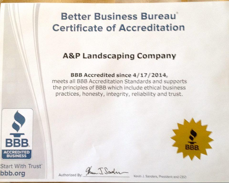 A&P Landscaping Co. image 2