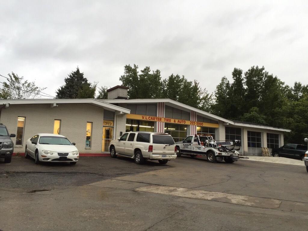 V L Carter Tire Auto At 3615 Nine Mile Rd Richmond Va