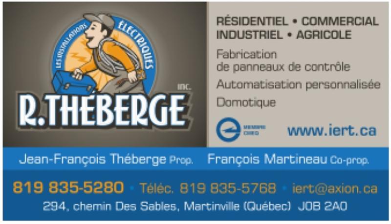 Les Installations Electriques R Théberge Inc à Martinville