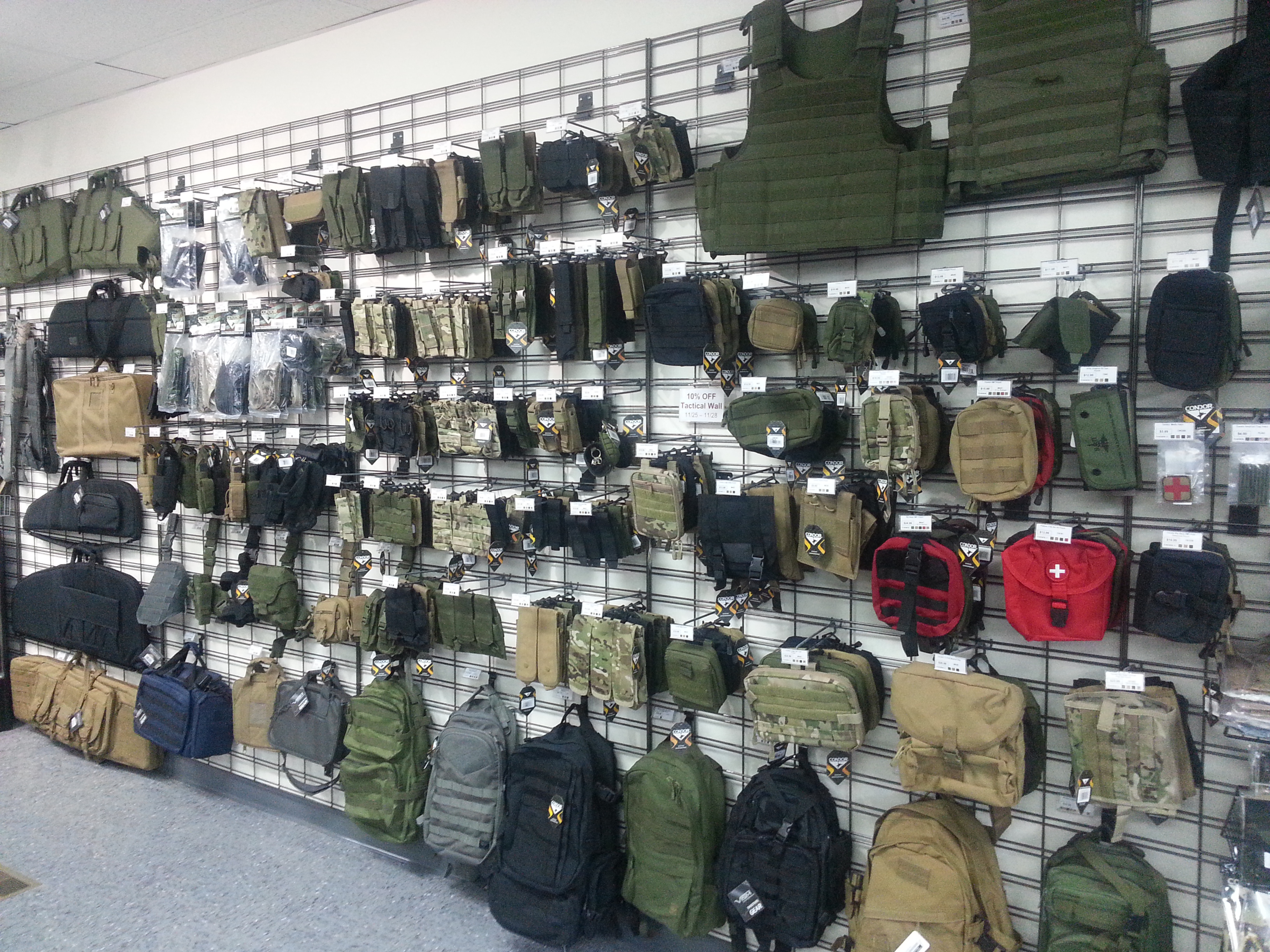 how to start a military surplus store