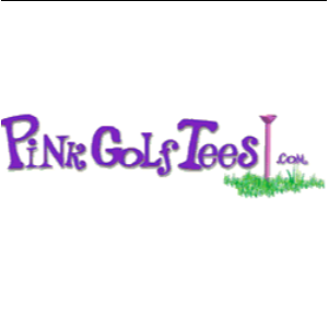 Pink Golf Tees