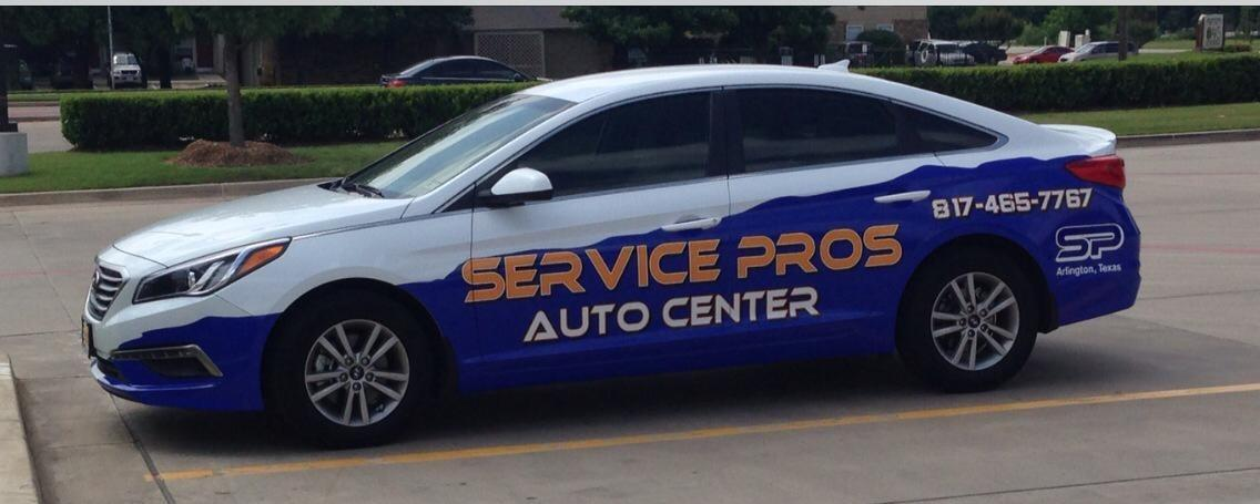 Service Pros Auto Center in Arlington TX 817 465 7767