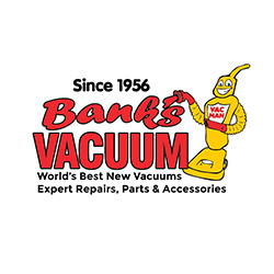 Bank's Vacuum Superstores - ad image