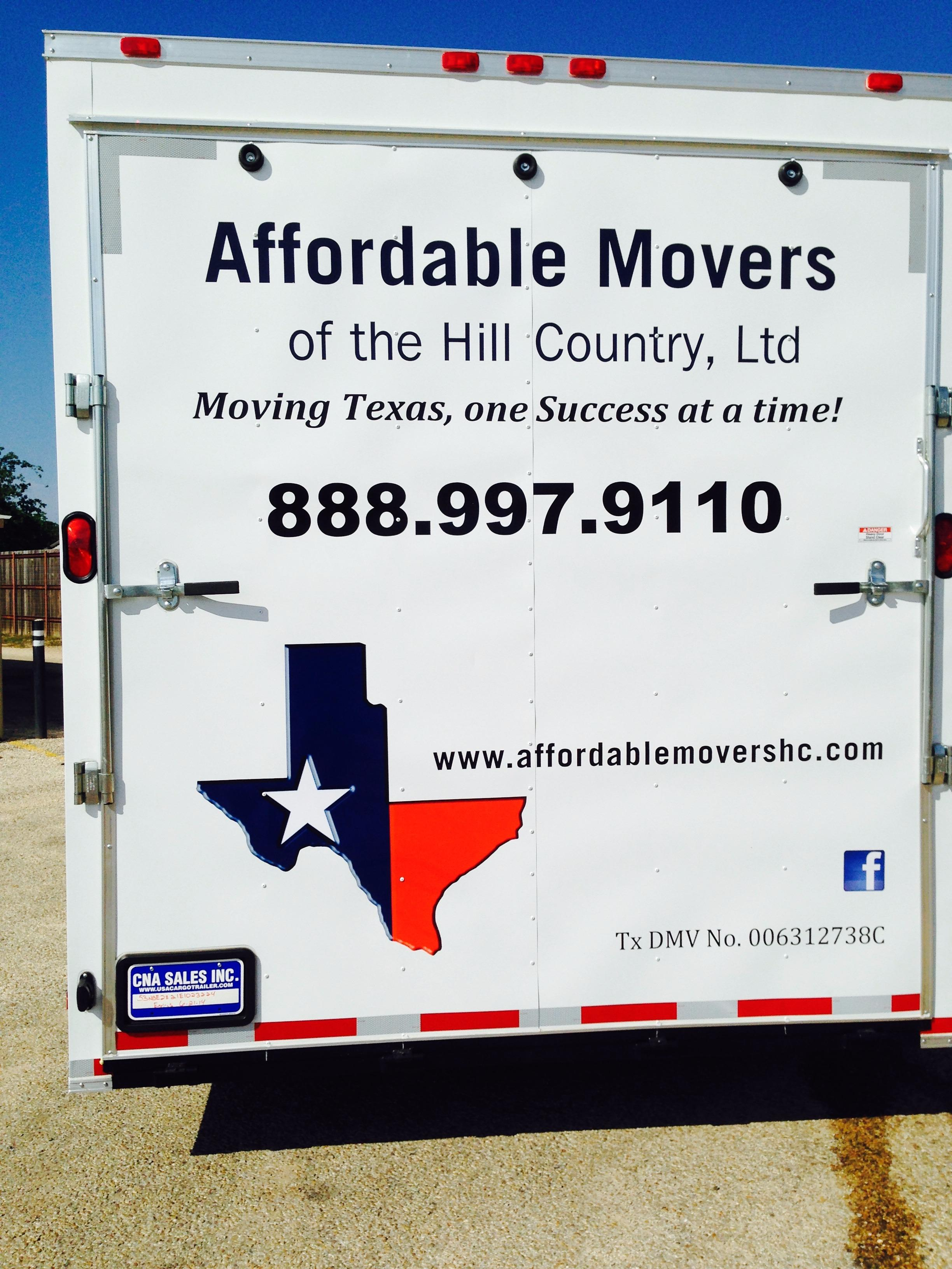 Affordable Movers of the Hill Country, Ltd image 1