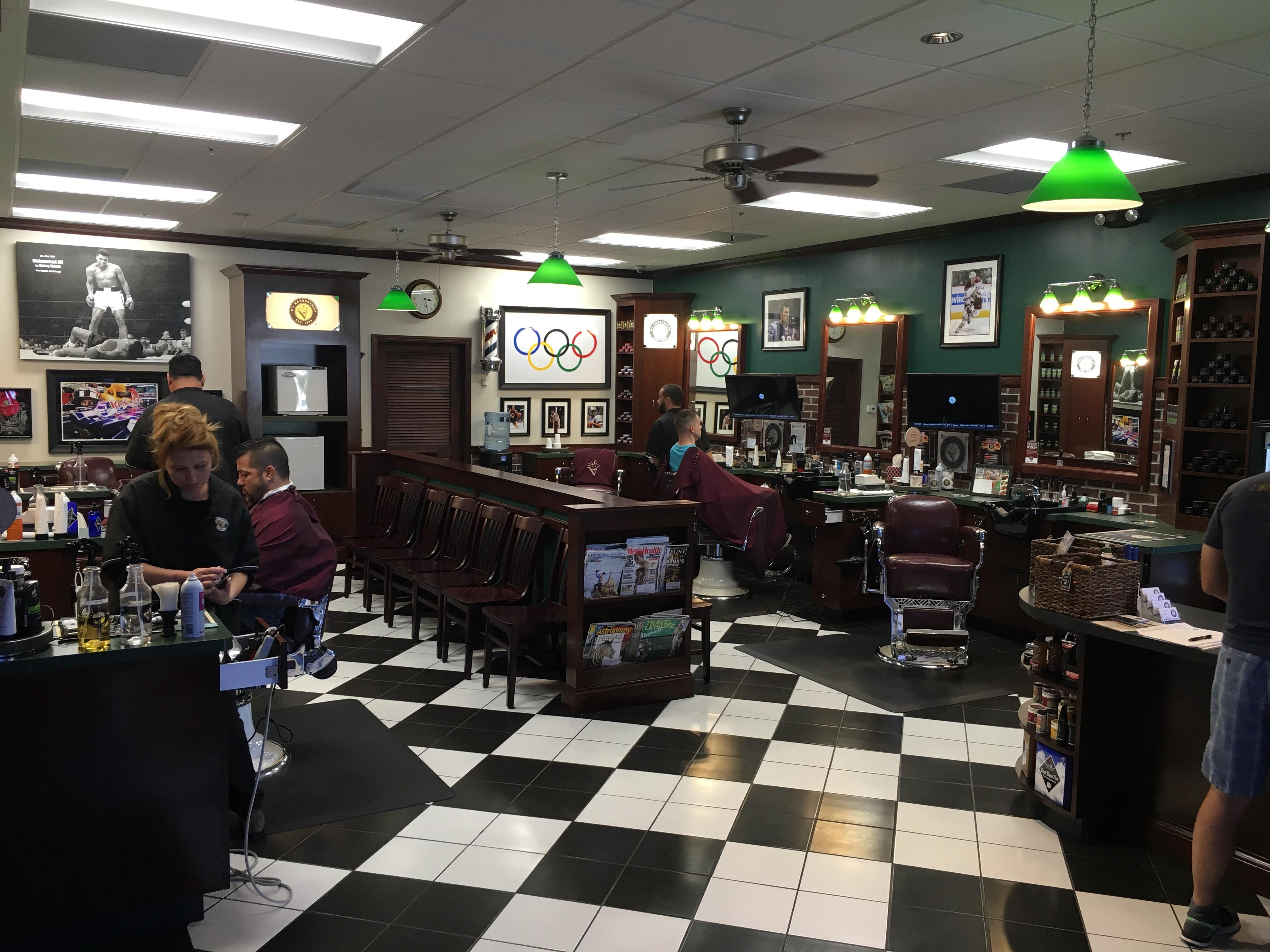 Man Cave Barber Williams Lake : V s barbershop in gilbert az