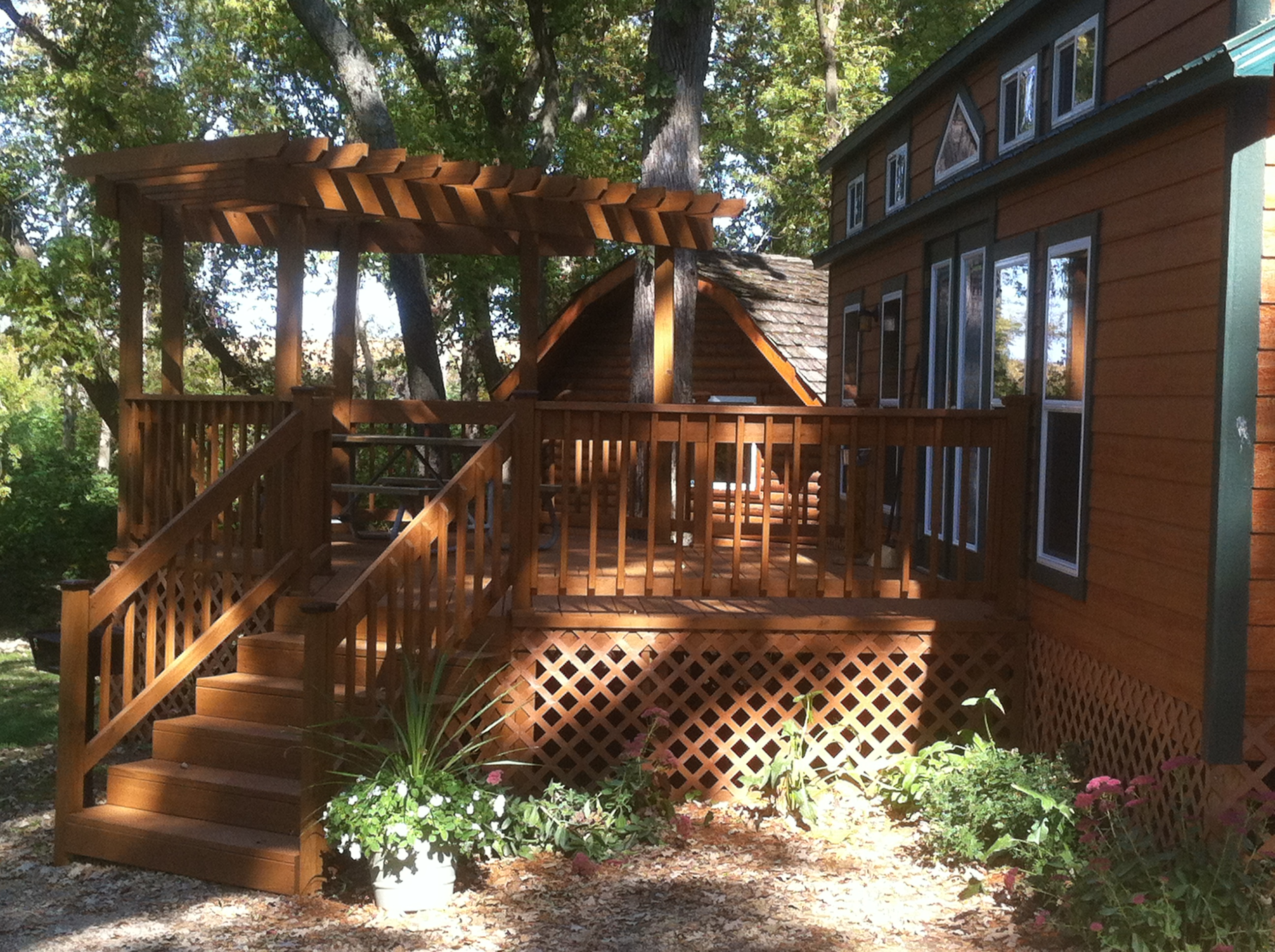 Our Deluxe Loft & Beautiful Deck.
