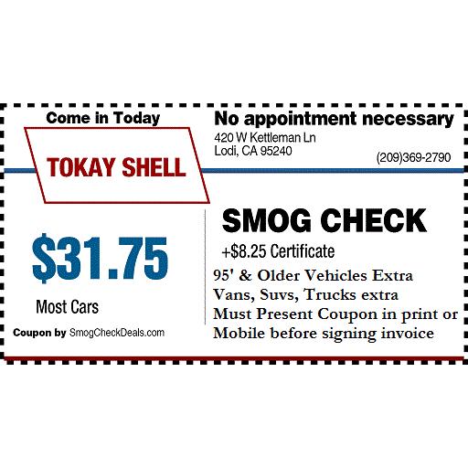 Tokay Shell Smog Station
