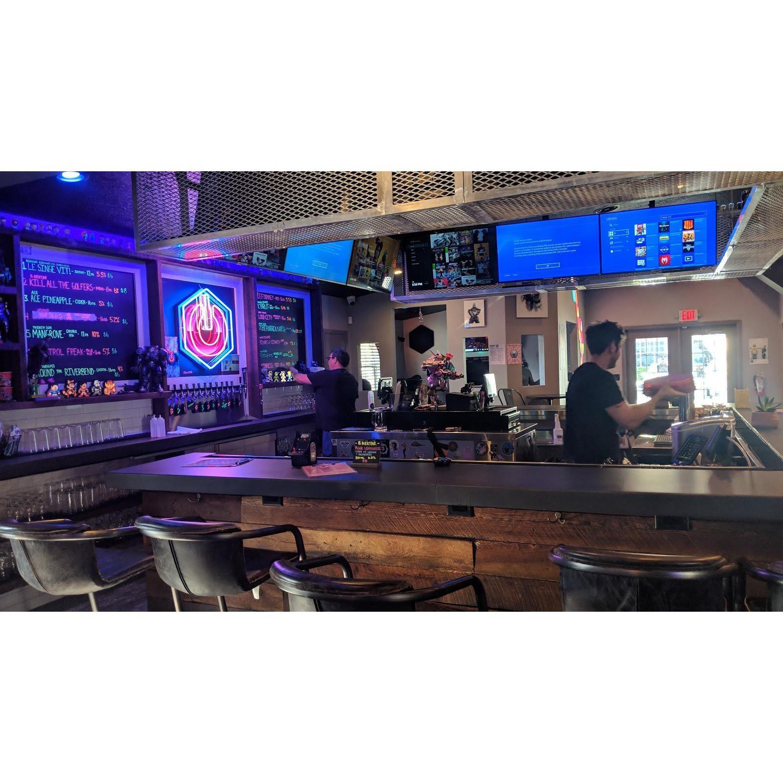 Reboot Arcade  and  Bar