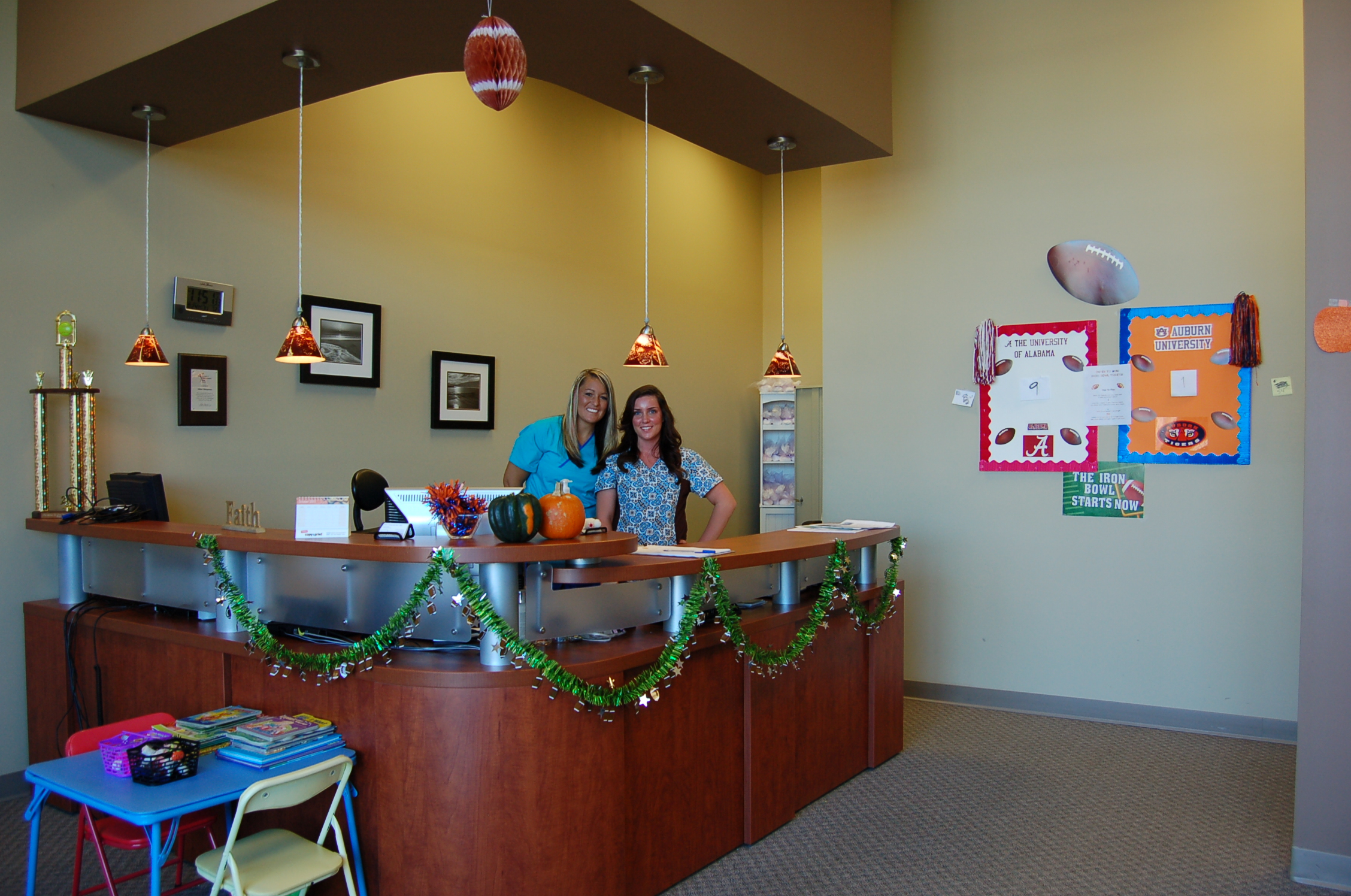 Millar Chiropractic - Huntsville AL (Jones Valley) front desk area
