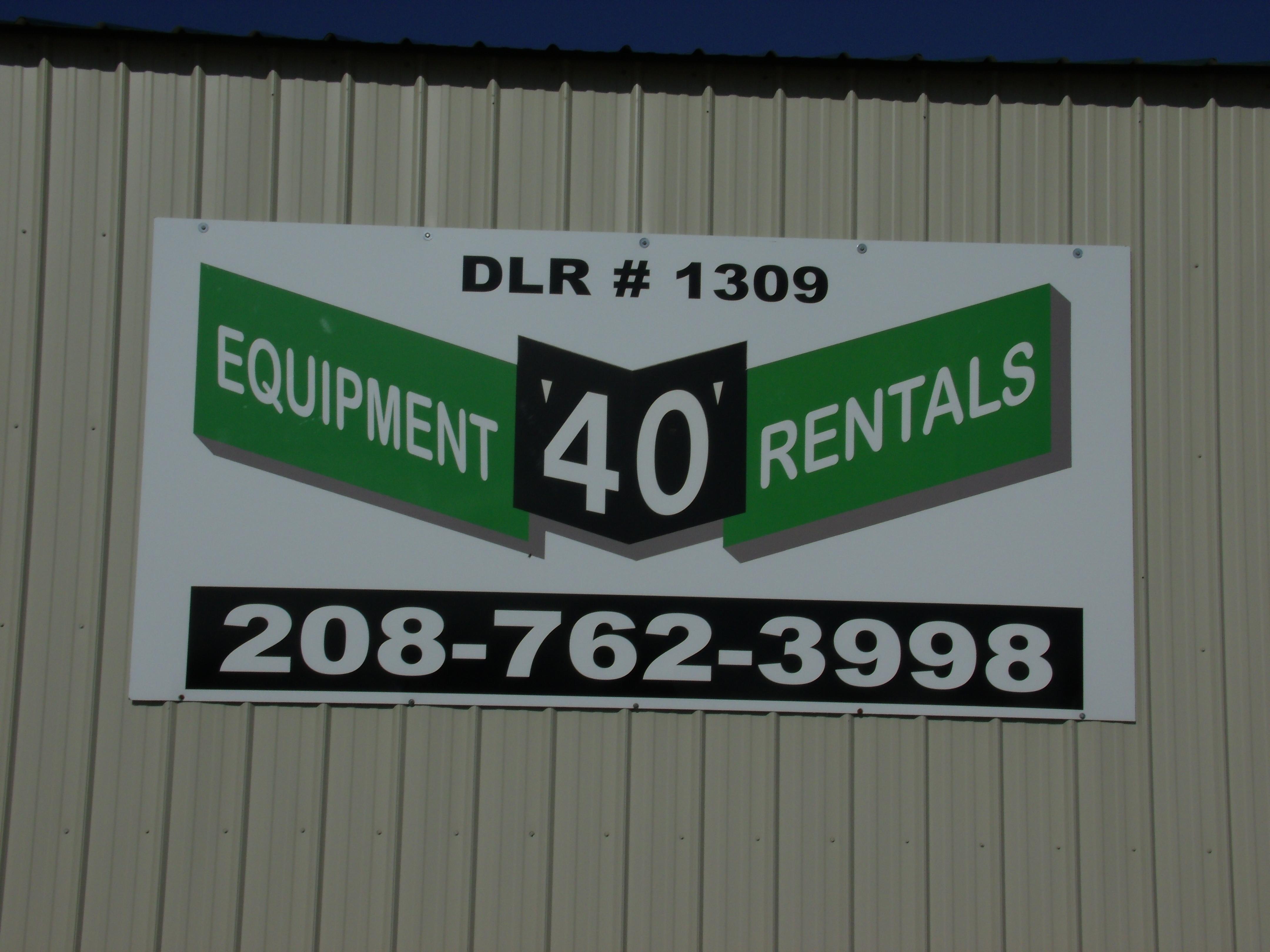 """""""40"""" Rentals"""