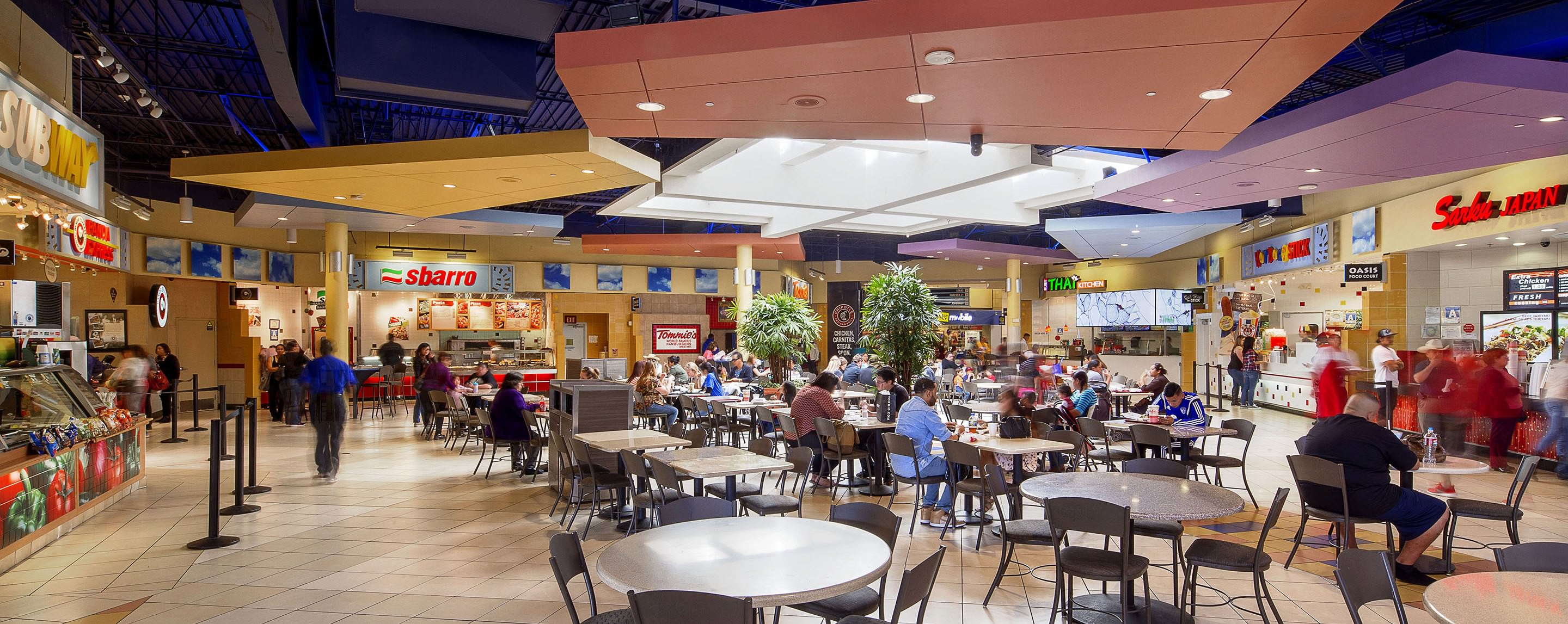 Valley Plaza Mall Bakersfield Food Court