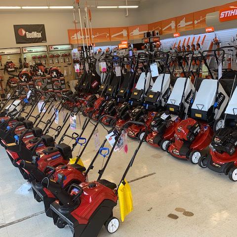 Billings Selection of Mowers and Blowers