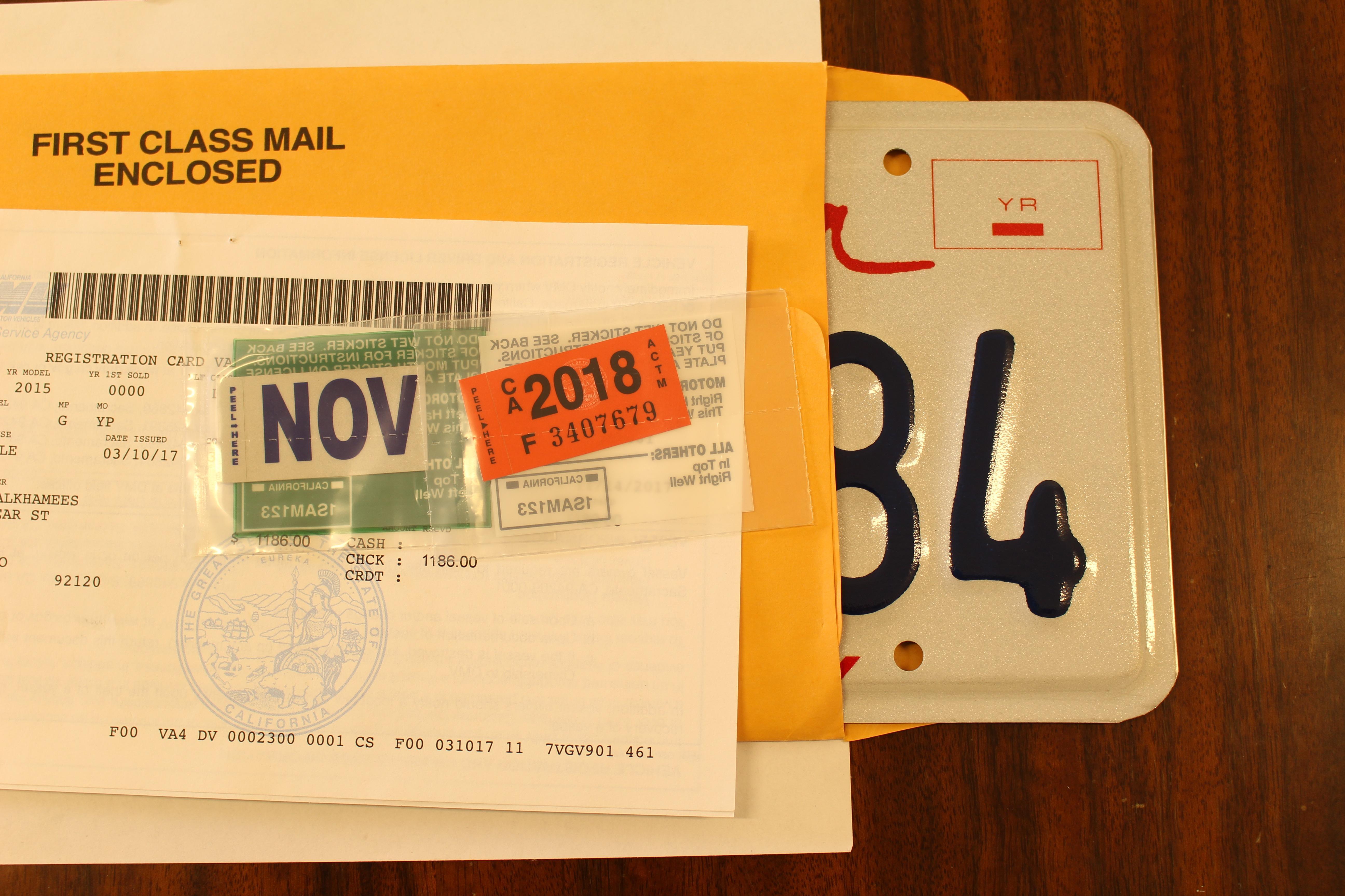 Express Auto Registration DMV San Diego