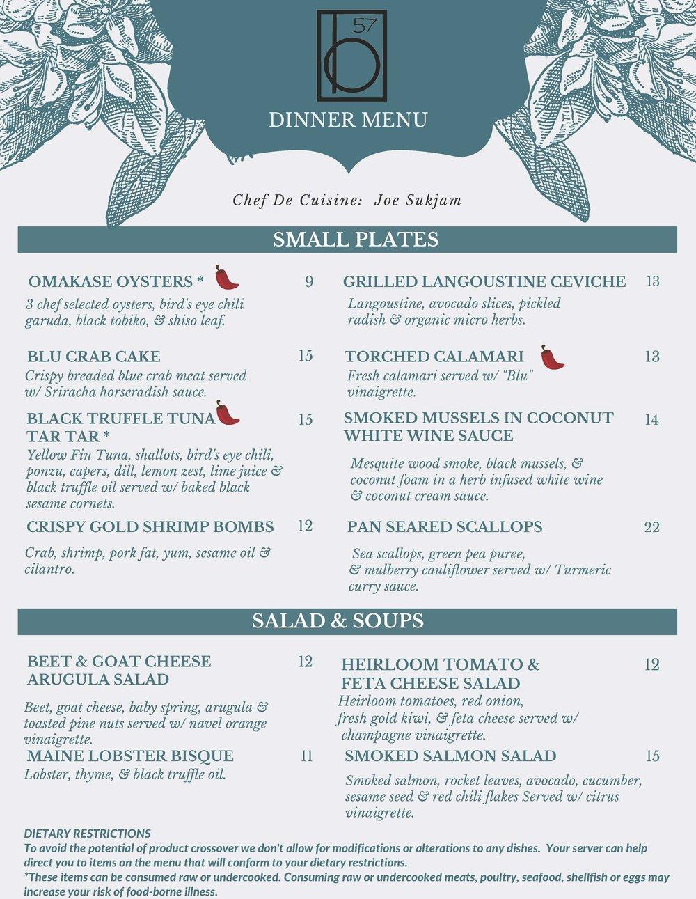 Blu 57 Seafood & Small Plates image 0