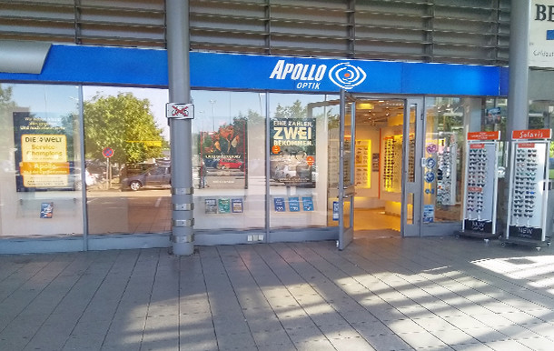 Apollo-Optik, Gundelfinger Str. 4 in Freiburg
