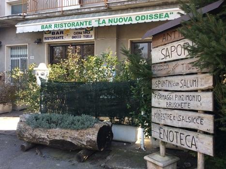 Bar, Ristorante La Nuova Odissea