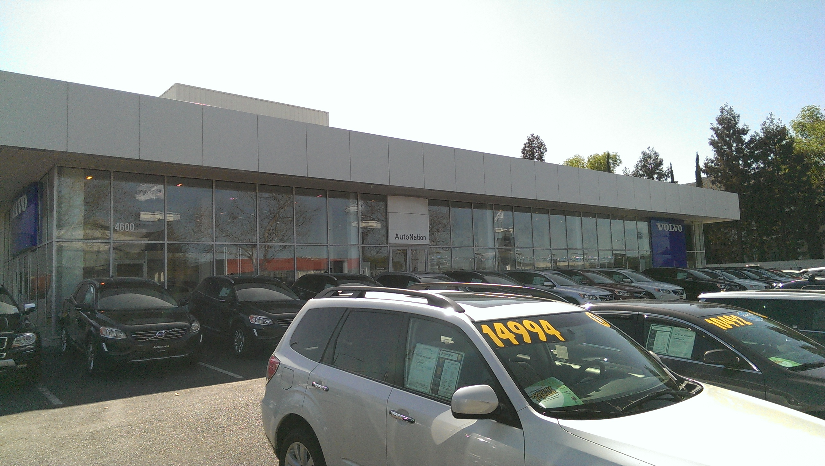 Autonation volvo cars san jose at 4600 stevens creek for Steven creek mercedes benz