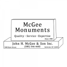 McGee Monuments
