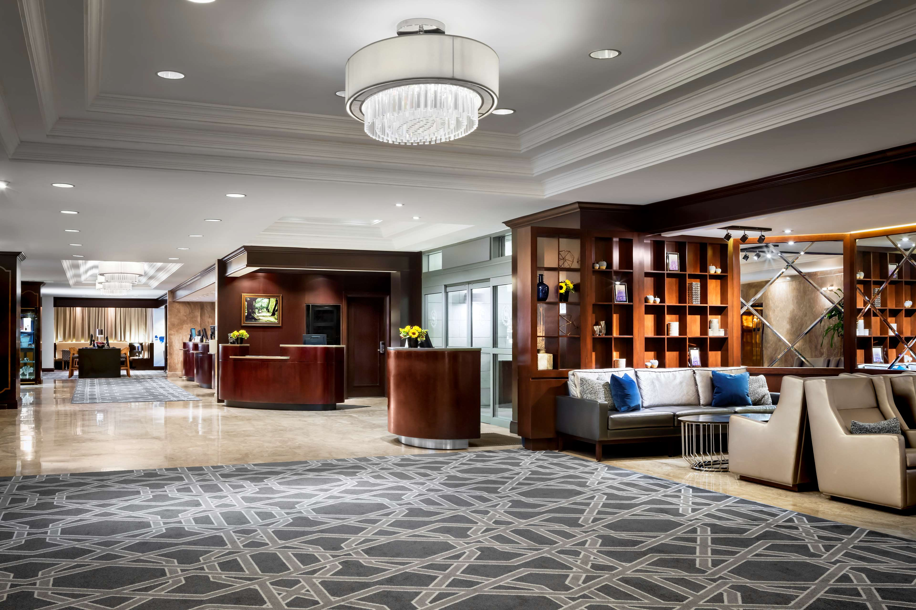 Le Centre Sheraton Montreal Hotel à Montreal: Overall Lobby View