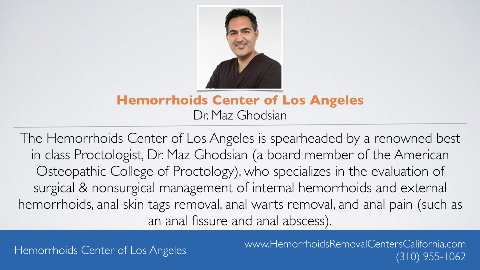 Hemorrhoids Center of Los Angeles