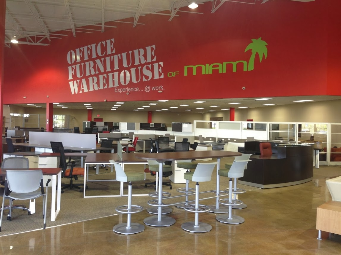 Office furniture warehouse of miami coupons near me in for Furniture warehouse near me