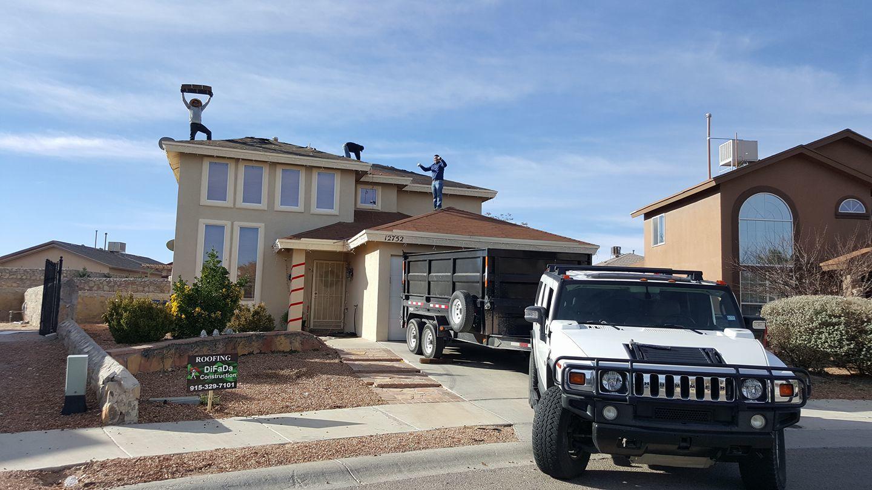 Difada construction el paso roofing texas for Builders in el paso tx