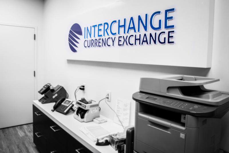 Interchange Currency Exchange in Toronto