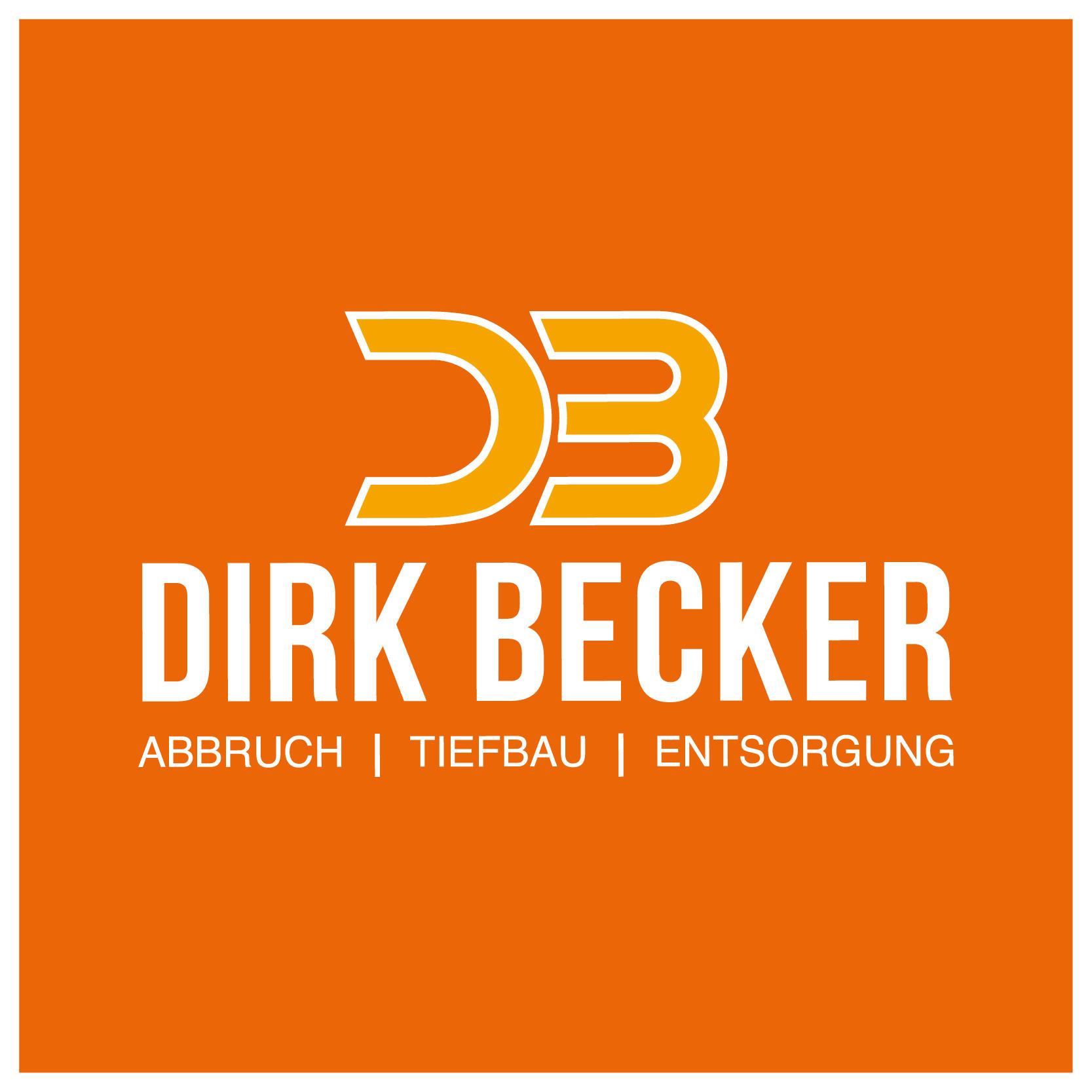 Logo von Dirk Becker. Abbruch - Tiefbau - Galabau