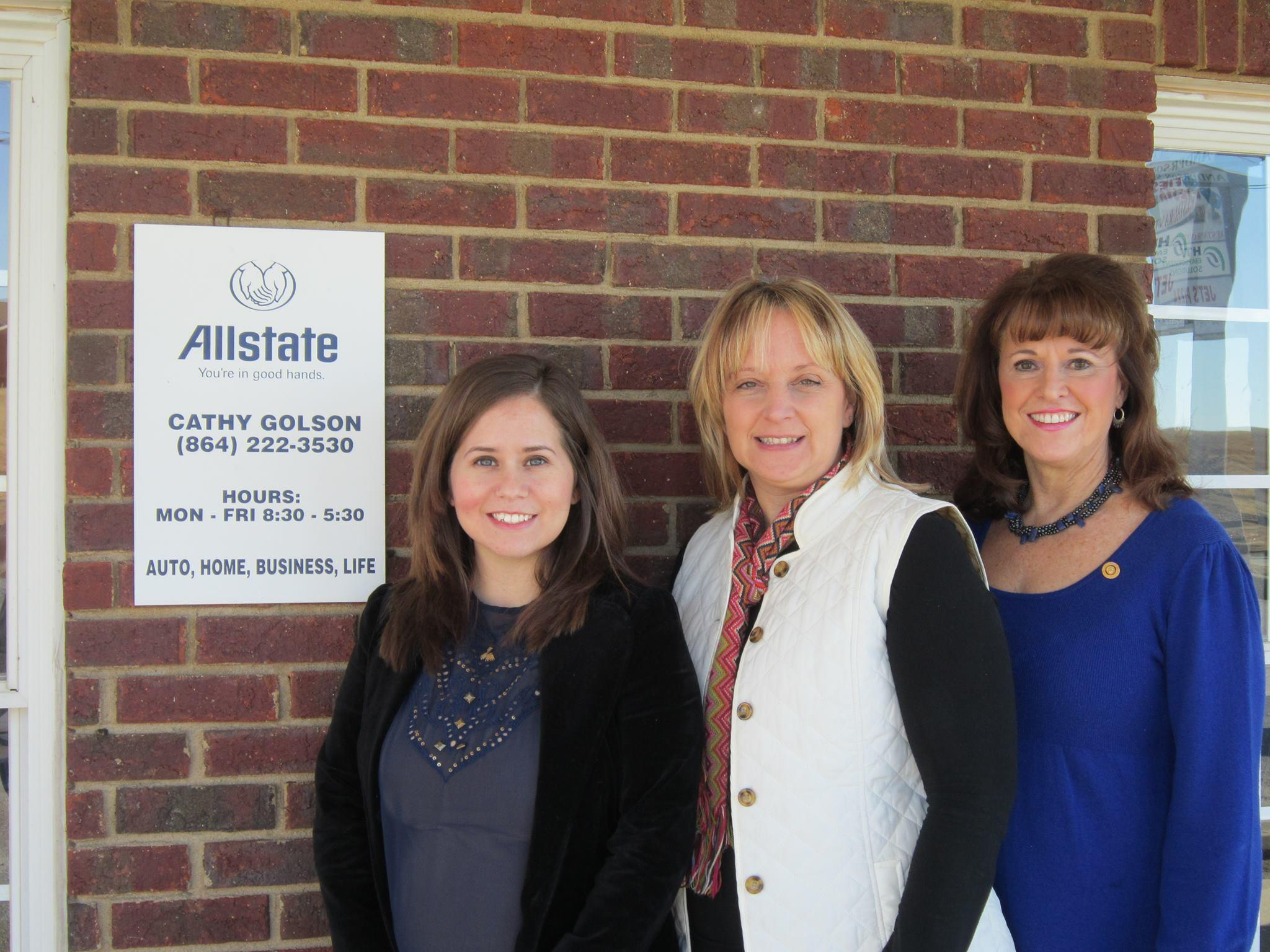 Allstate Insurance Agent: Cathy Golson